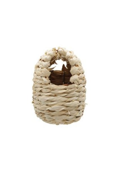 """Living World Maize Peel Bird Nest for Finches, Small, 8 x 10 x 12 cm (3.1 x 3.9 x 4.7"""")"""