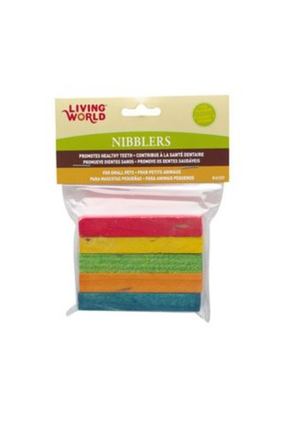 Living World Nibblers Rainbow Wood Chews