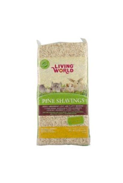Living World Pine Shavings - 20 L - (1200 cu in)
