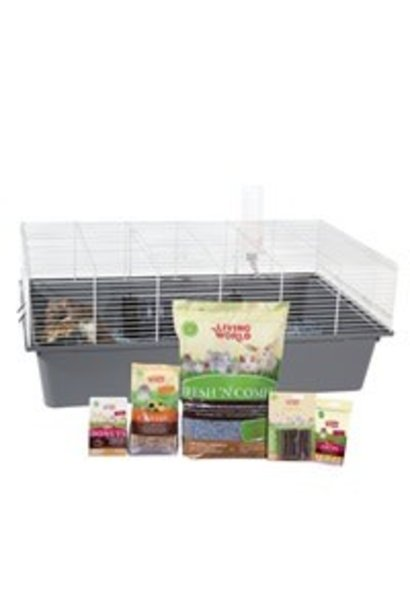 "Living World Rat Starter Kit - 78 cm L x 48 cm W x 31 cm H (30.7"" x 18.9"" x 12.2"")"