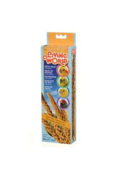 Living World Spray Millet for Birds, 200 g (7 oz)