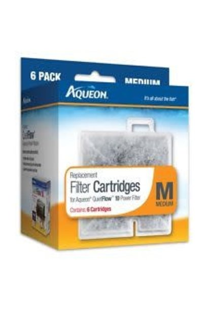 Aqueon Filter Cartridge Medium 6PK