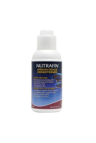 Nutrafin African Cichlid Conditioner, GH Increaser, 250 mL (8.4 fl oz)
