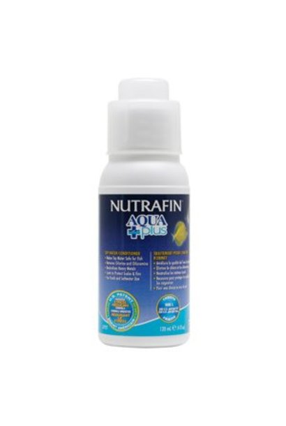 Nutrafin Aqua Plus Water Conditioner 4.1 oz