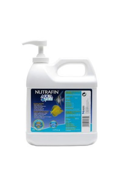 Nutrafin Aqua Plus, Tap Water Conditioner, 2 L (2.1 qt)