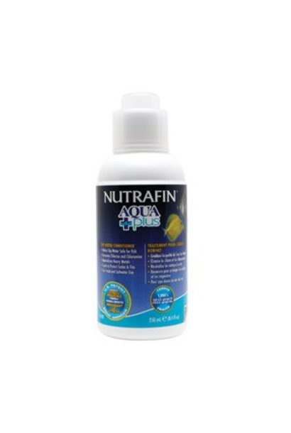 Nutrafin Aqua Plus, Tap Water Conditioner, 250 mL (8.4 fl oz)