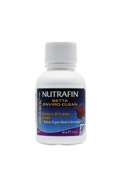 Nutrafin Betta Enviro-Clean Biological Betta Bowl Cleaner, 60 mL (2 fl oz)