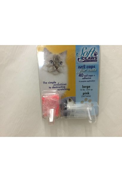 Soft Claws Nail Caps for Cats
