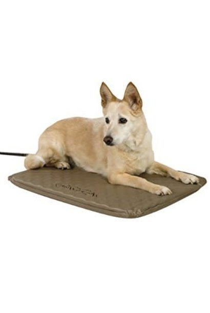Lectro Soft Outdoor Heated Bed Brn19x24