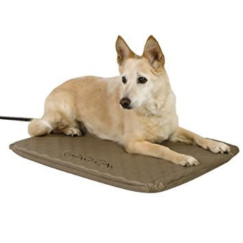 Lectro Soft Outdoor Heated Bed Brn19x24-1