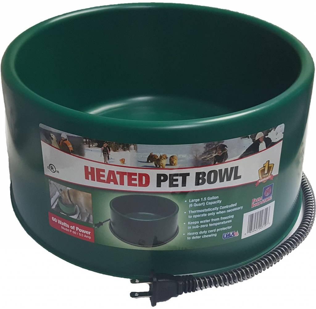 FarmInnovators Heated Pet Bowl 1qt-1