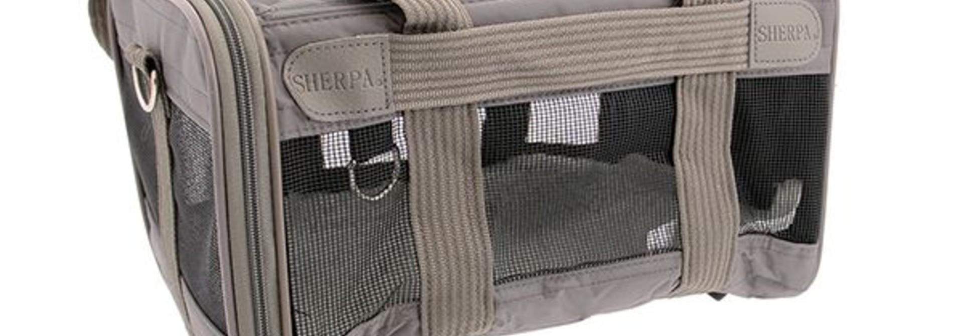 Sherpa Original Deluxe Bag Gray Small