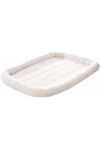 Ultra Soft Bed White Extra Extra Large 49x29