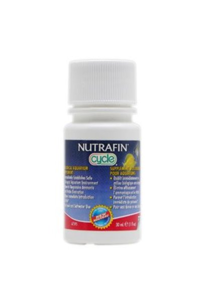 Nutrafin Cycle - Biological Aquarium Supplement, 30 mL (1 fl oz)