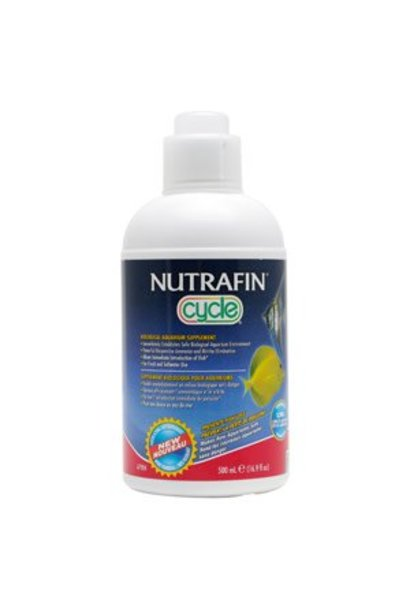 Nutrafin Cycle - Biological Aquarium Supplement, 500 mL (16.9 fl oz)