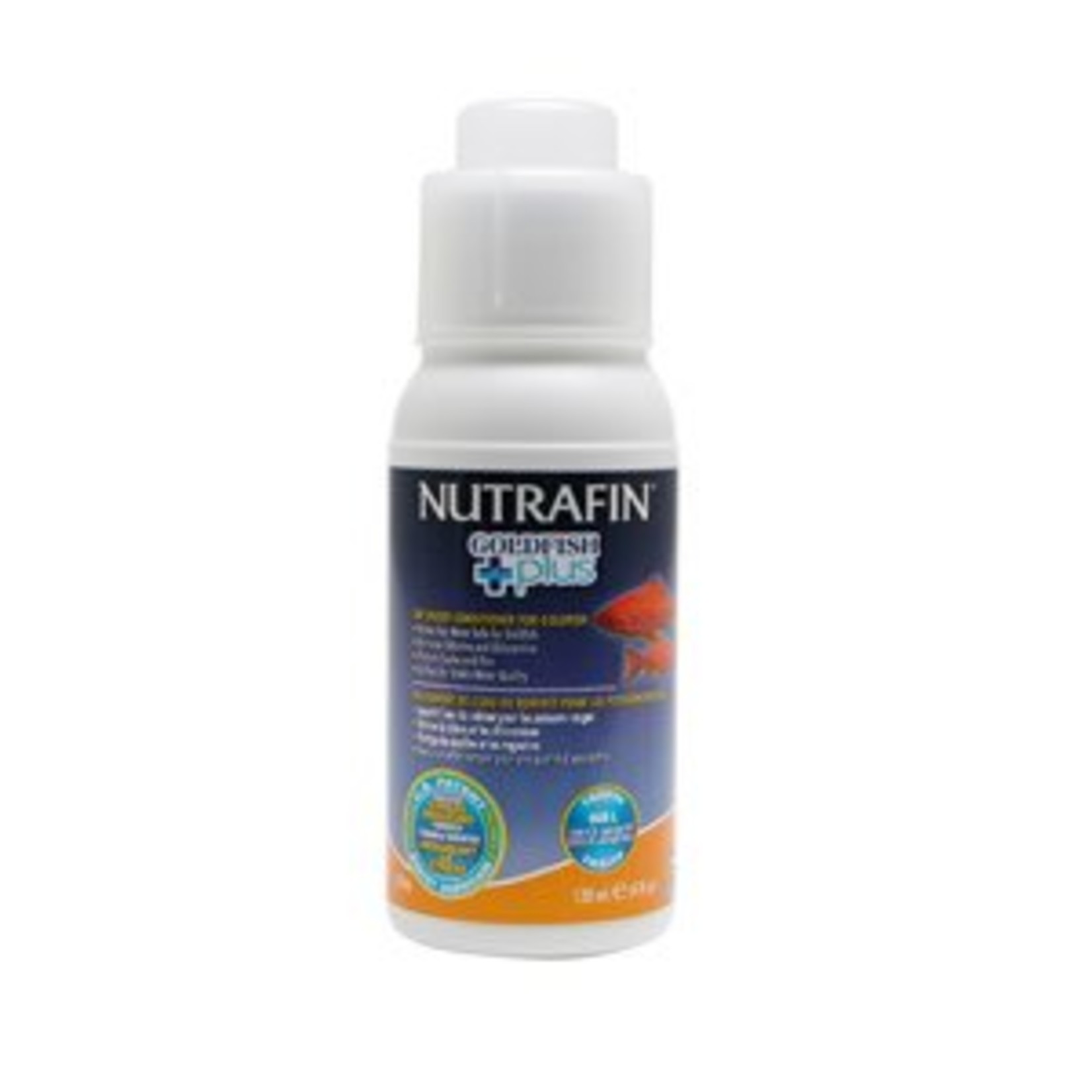 Nutrafin Nutrafin Goldfish Plus, Tap Water Conditioner for Goldfish, 120 mL (4 fl oz)