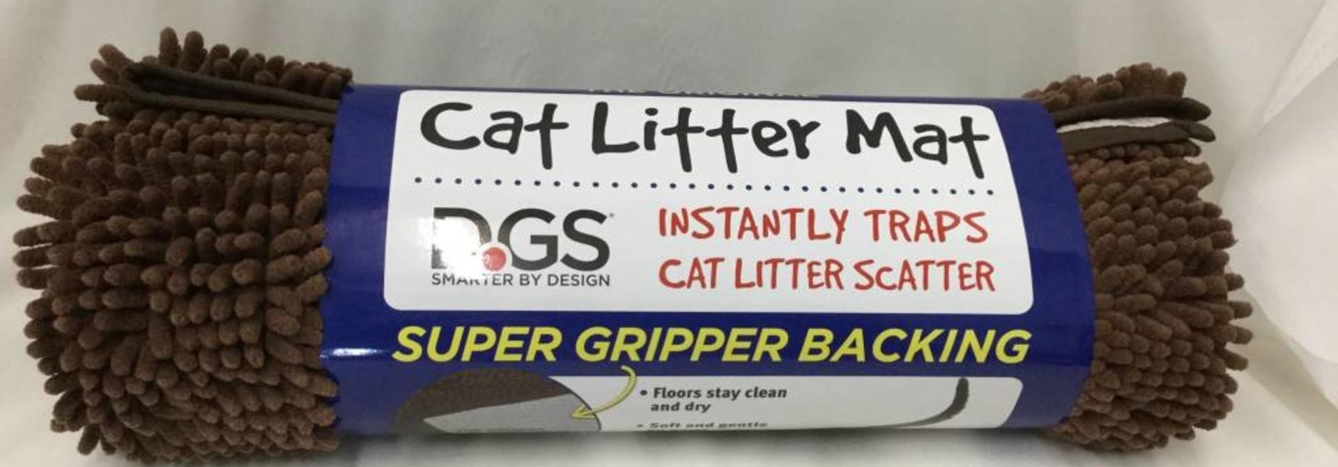 DirtyCat Littermat Brown 35x26