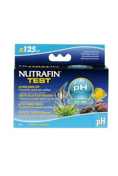 Nutrafin pH High Range Test (7.4 - 8.6)