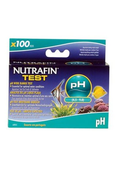 Nutrafin pH Wide Range Test (4.5 - 9.0)