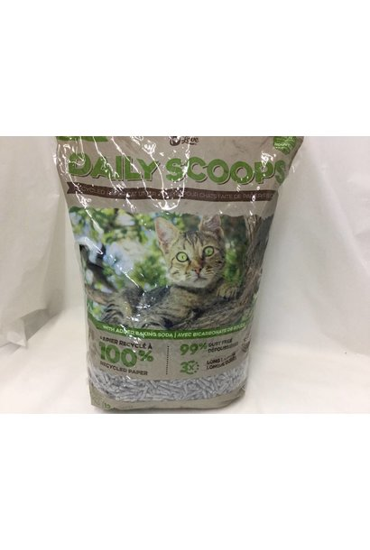 CL Daily Scoops Paper Litter, 12lbs