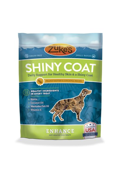 Zuke's Enhance Shiny Coat Peanut Butter & Chickpea 5oz