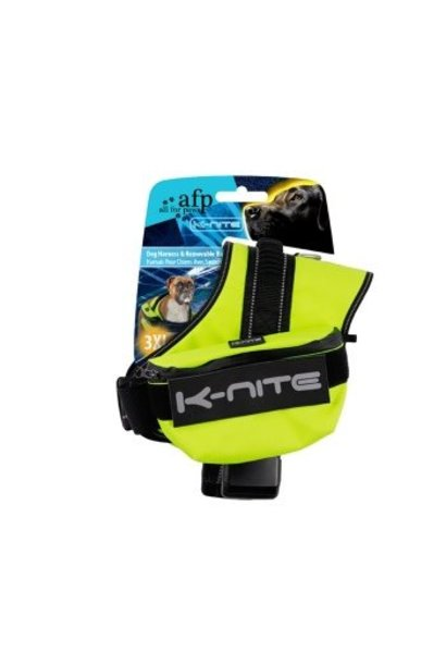 K-Nite Dog Harness w-Removable Bags, X-Large