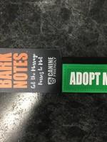 "Bark Notes Leash Wraps 3/4"" - Adopt Me"
