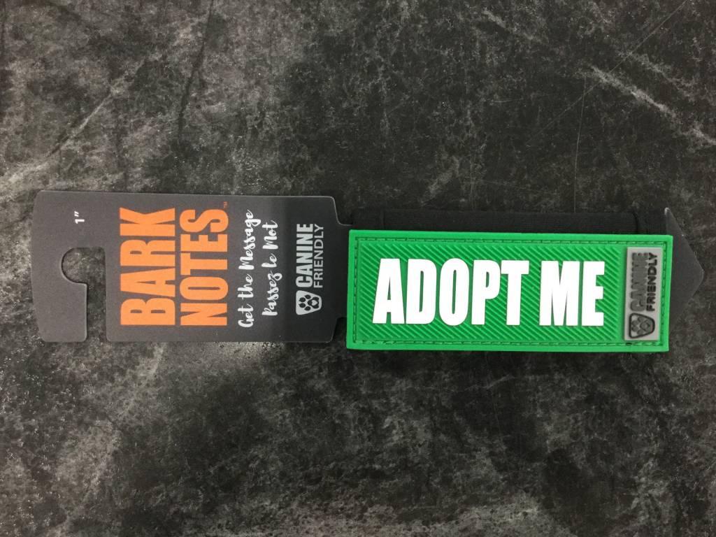 "Bark Notes Leash Wraps 1"" - Adopt Me-1"
