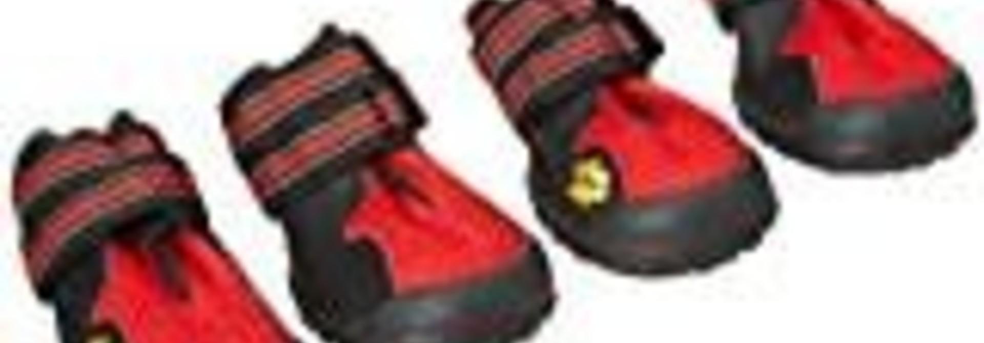 AFP All Road Dog Boots, Orange, Size 1