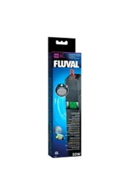 Fluval E50 Advanced Electronic Heater, 60 L (15 US gal), 50 W