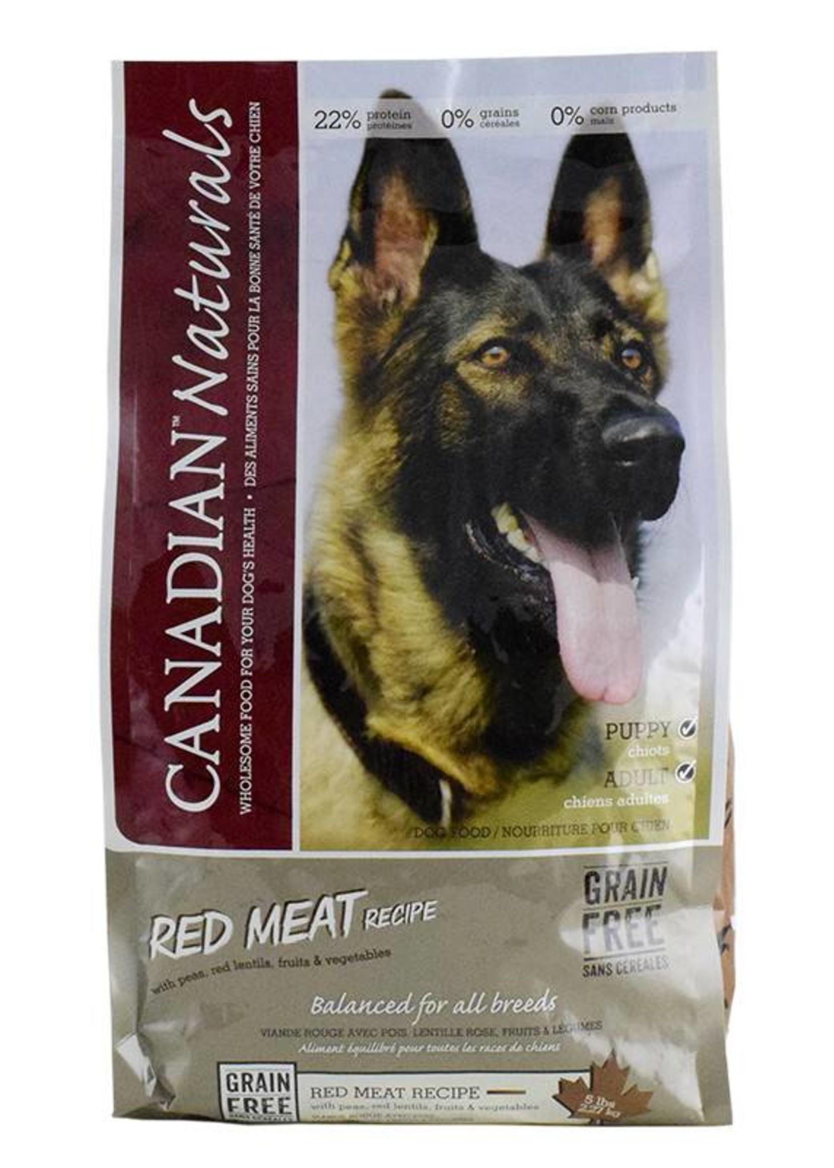 Canadian Naturals Canadian Naturals Grain Free Red Meat 25LB