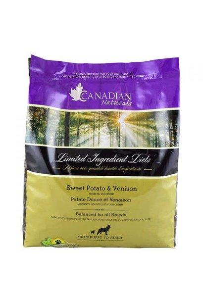 Canadian Naturals Grain Free Venison & Sweet Potato 25LB