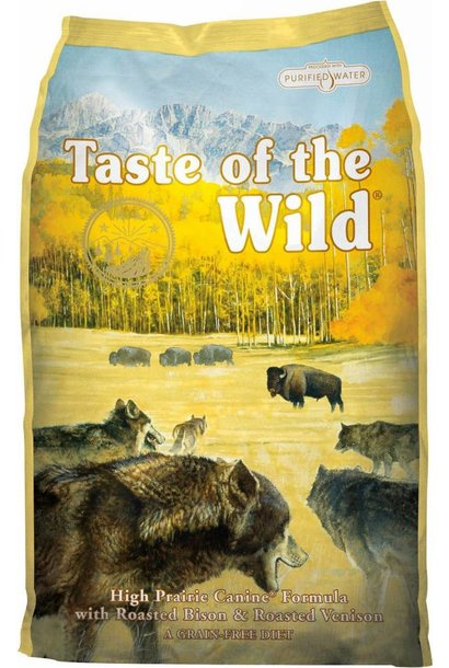 Taste of the Wild/High Prairie Buffalo - 28lb