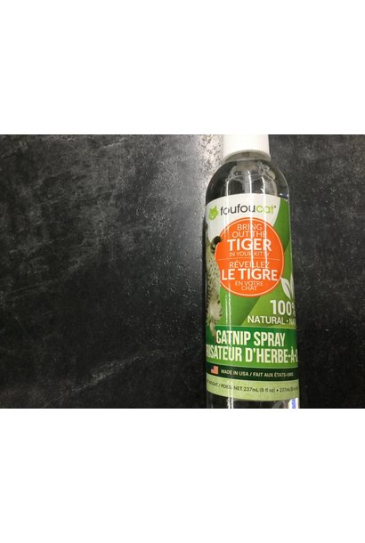 foufou cat catnip spray 8oz