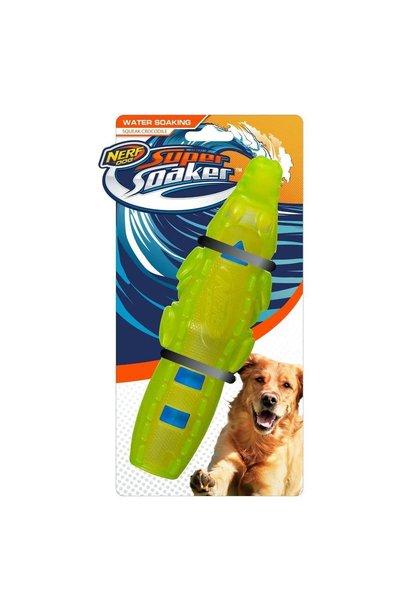 Nerf Dog Super Soaker Squeak Crocodile