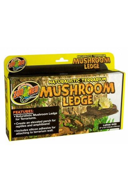 Nat.Mushroom Ledge Lge 6x12in