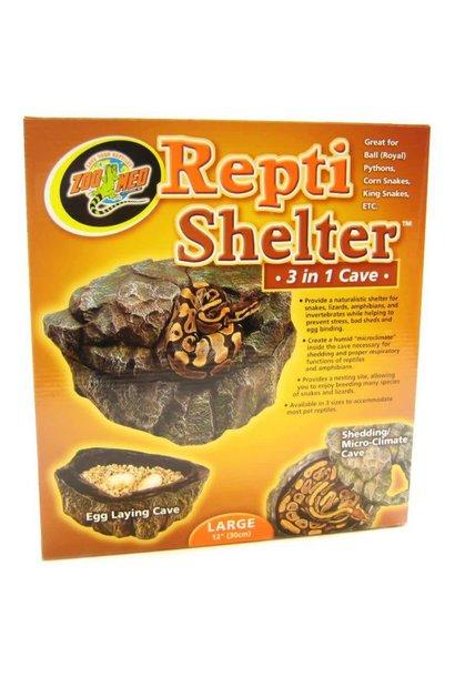 Repti Shelter 3-in-1 Cave Sml