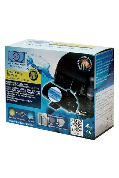 Aqua-Fit Clip-On UV 3 Watt Green Killing Machine