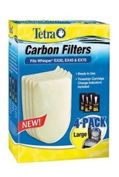 EX Carbon Filter Large 4PK