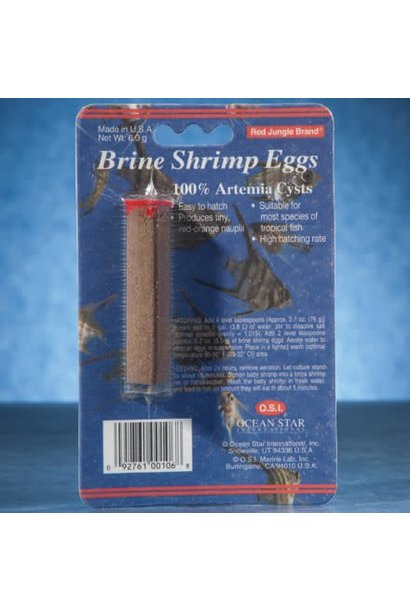 O.S.I Brine Shrimp Eggs
