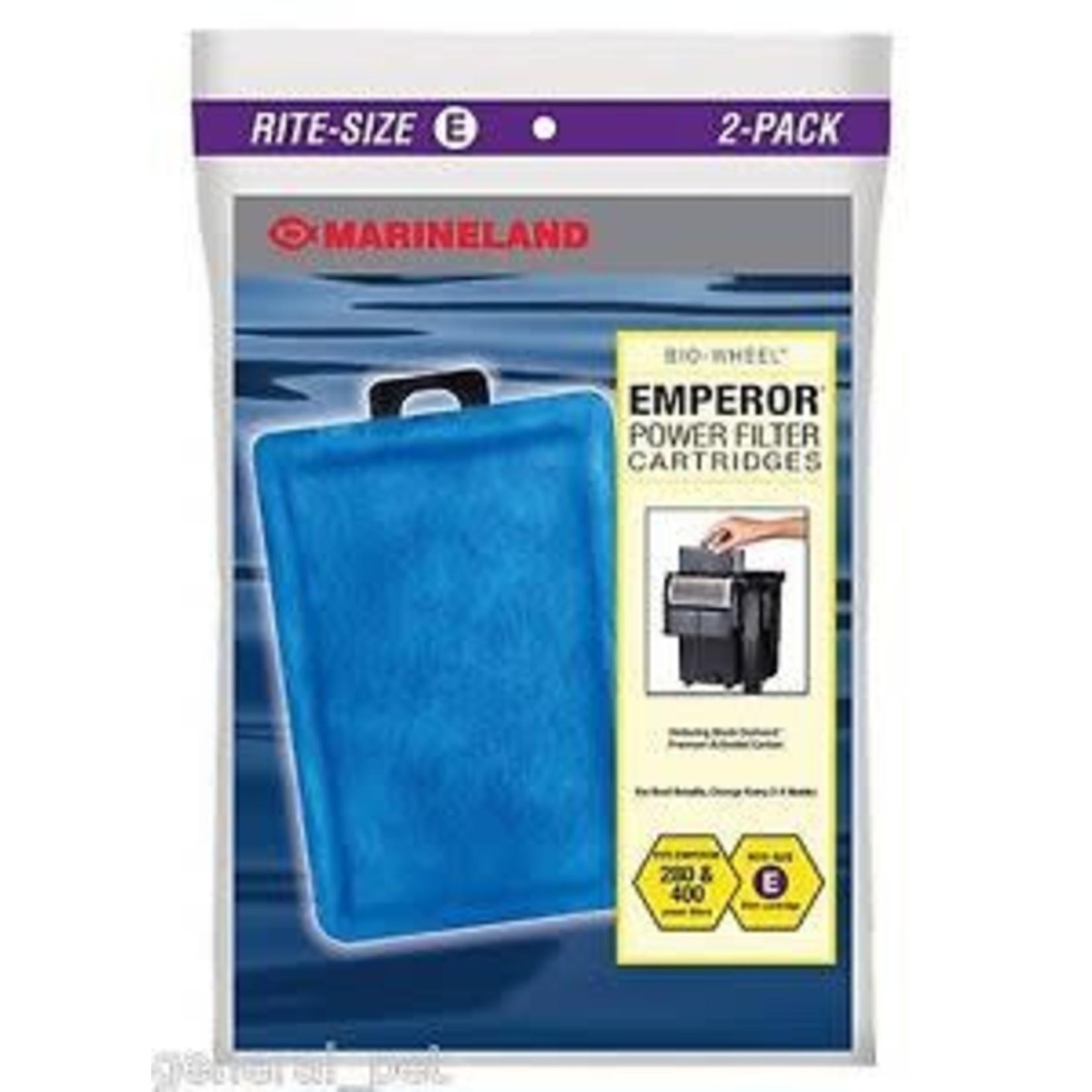 Marineland Disposable E Cartridge for Emperor 2PK