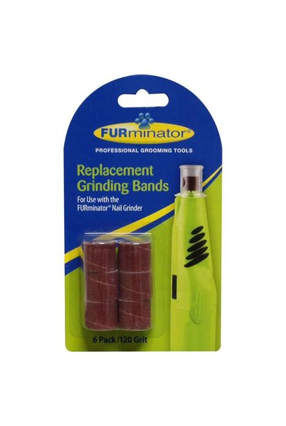 Furminator Nail Grinder Replacement Bands6pk