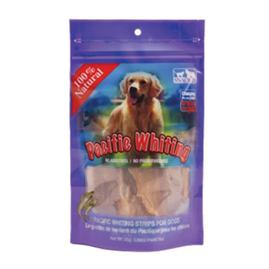 Dog Pacific Whiting Strips 25GM-1