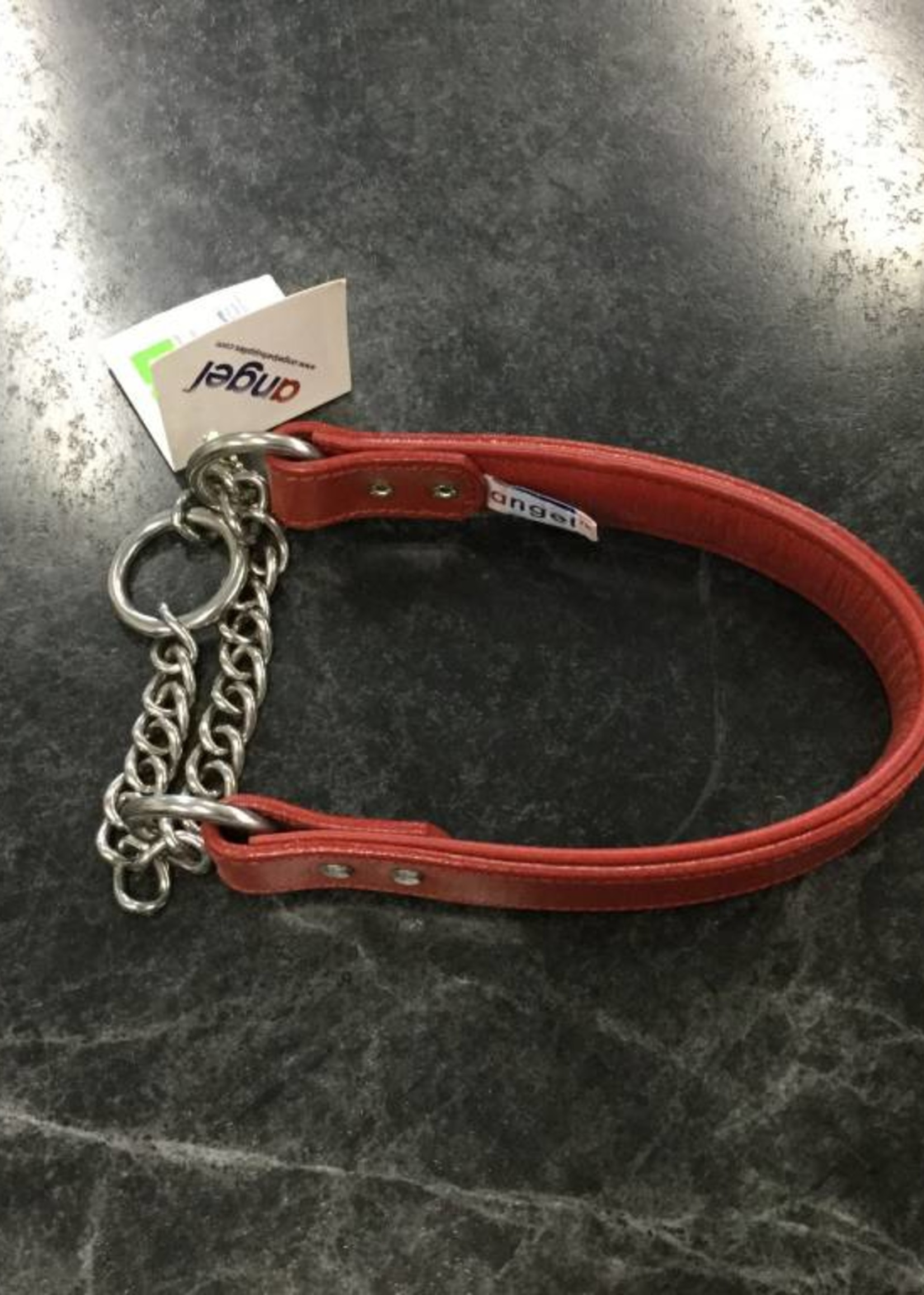 """Angel Collar Rio Martingale Red 14"""""""