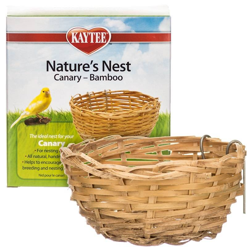 Natures Nest Bamboo Canary-1
