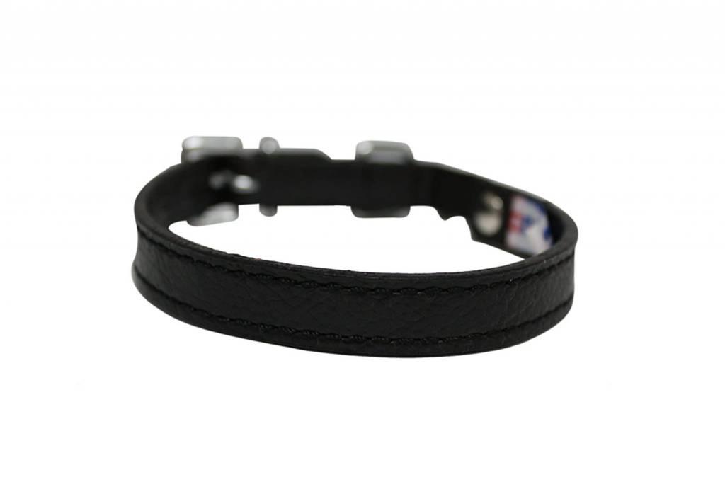 Alpine Cat Collar 10in. Black-1