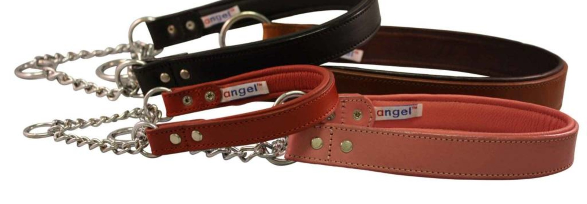 Angel Collar Rio Martingale Pink 10""