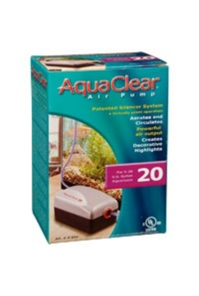 AquaClear 20 Air Pump, 19 to 75.7 L (5 to 20 U.S. gal.)