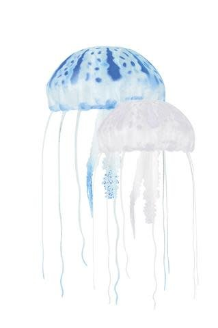 Aquatop Floating Jellyfish 2pk Blue/Clear-1