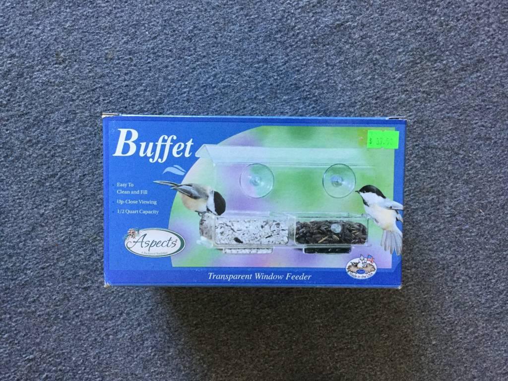 Buffet Transparent Window Feeder-1